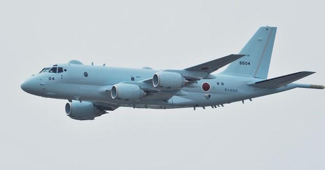 Cận cảnh máy bay P-1, sát thủ tàu ngầm của Nhật
