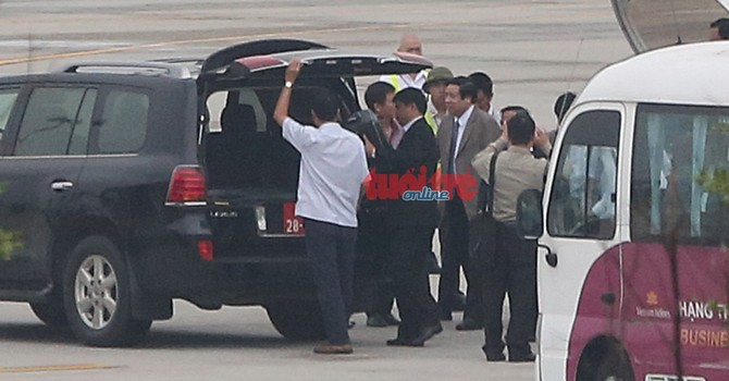Đại tướng Phùng Quang Thanh đã về đến Hà Nội