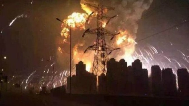 Ông Tập Cận Bình phái quân đội Trung Quốc điều tra vụ nổ ở Thiên Tân