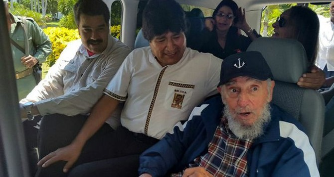 Ông Fidel Castro lên án chính sách của Hoa Kỳ