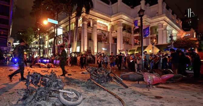 """Thái Lan: """"Có một mạng lưới tội phạm đứng sau các vụ khủng bố"""""""