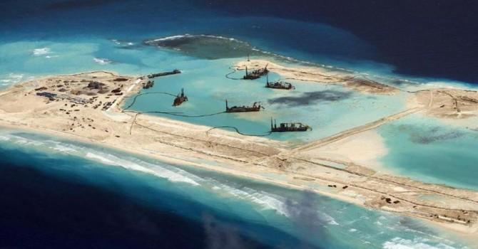Mỹ tố cáo Trung Quốc đang tăng tốc xây đảo nhân tạo tại Biển Đông