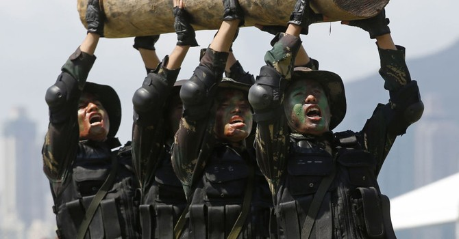 Quân đội Trung Quốc đã đến sát biên giới với Triều Tiên
