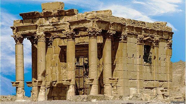 IS phá hủy đền cổ Baalshamin 2.000 năm tuổi