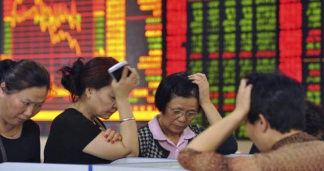 Chứng khoán Trung Quốc tiếp tục sụt giảm