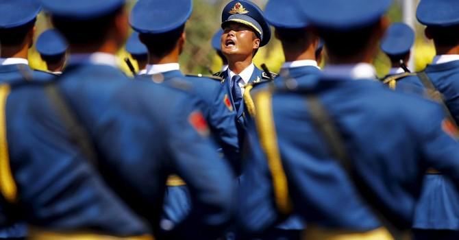 Nhiều vị tướng Trung Quốc sụt cân vì diễn tập duyệt binh