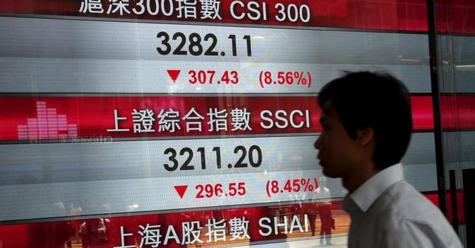 Kinh tế Trung Quốc lao dốc, chứng khoán đỏ sàn từ Á sang Âu, Mỹ