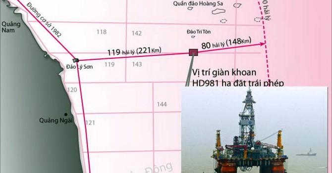 Reuters: Giàn khoan Trung Quốc vẫn trong vùng biển Việt Nam