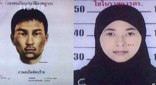 Thái Lan phát lệnh bắt thêm 2 nghi can khủng bố