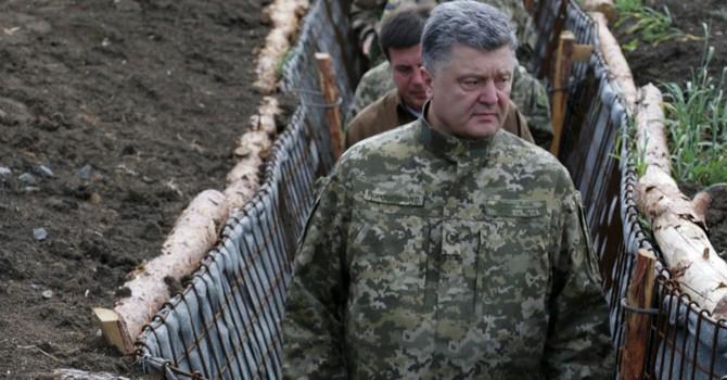 Báo Ukraine: Tổng thống Poroshenko nghĩ đến việc tiến đánh Moscow