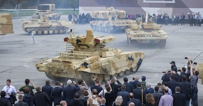 Nga mong chờ gì ở triển lãm vũ khí Russia Arms Expo 2015?