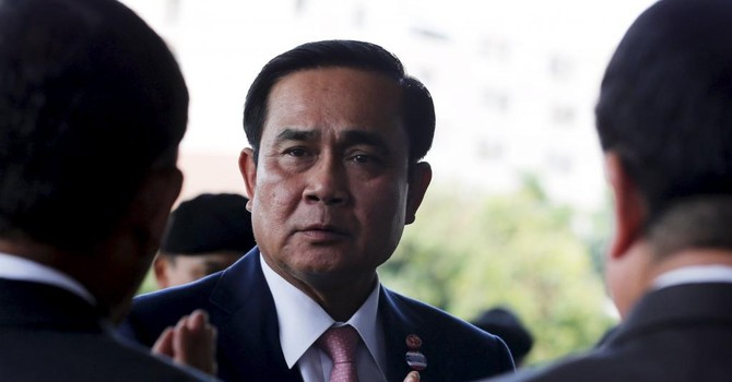 Thái Lan cấm người dân chỉ trích chính phủ