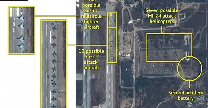 Nga triển khai 28 máy bay tại Syria