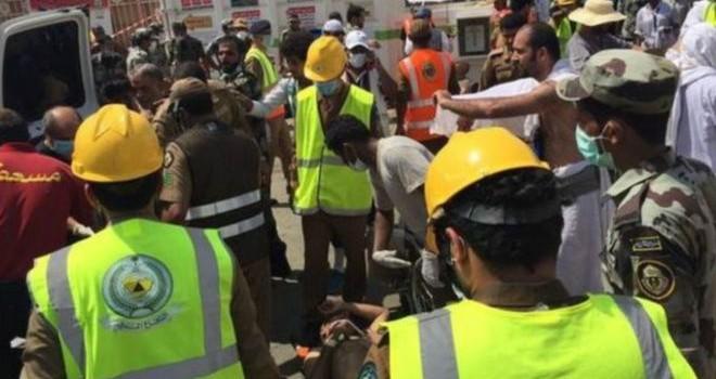Hàng trăm người bị giẫm đạp đến chết gần Mecca