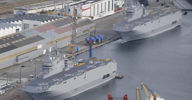 Pháp bán cho Ai Cập hai chiến hạm Mistral