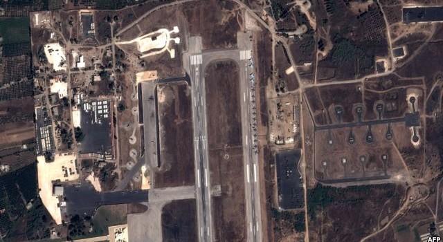 Syria tấn công IS bằng chiến đấu cơ của Nga