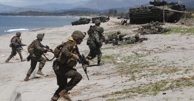 Biển Đông: Mỹ triển khai 30.000 quân đối phó với Trung Quốc