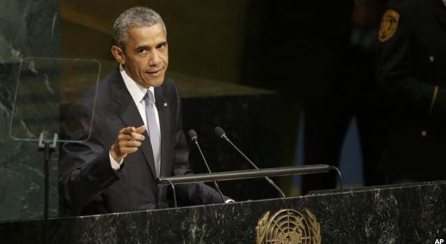 Ông Obama kêu gọi nỗ lực ngoại giao toàn cầu giải quyết xung đột