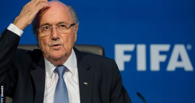 Ông Blatter kiên quyết không từ chức