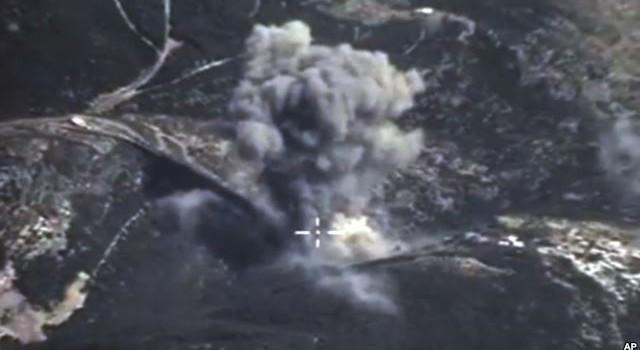 Chiến đấu cơ của Nga tăng cường các vụ không kích ở Syria