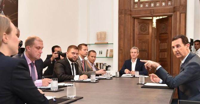 Tổng thống Syria kêu gọi Phương Tây hợp tác với Nga