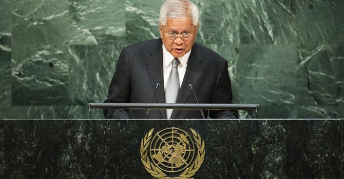 """Ngoại trưởng Philippines: """"Trung Quốc muốn chiếm Biển Đông làm ao nhà"""""""