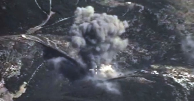 Nga công bố đã tiêu diệt 300 chiến binh ở Syria