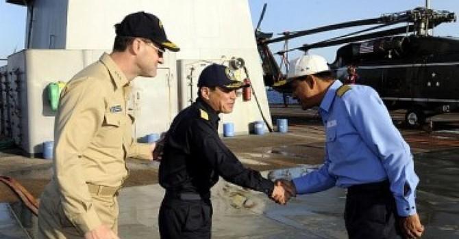 Mỹ-Ấn-Nhật tập trận tại Ấn Độ Dương