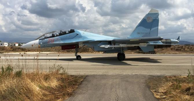 Nga tăng cường Su-30 không kích phiến quân ở Syria