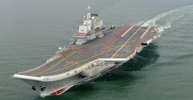 Trung Quốc bác tin điều tàu sân bay Liêu Ninh đến Syria
