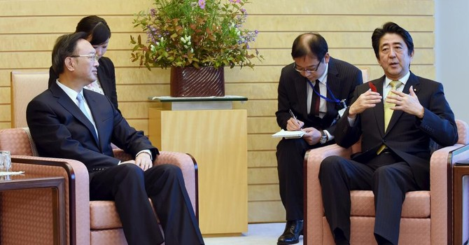 Thủ tướng Abe gửi thư mời Chủ tịch Trung Quốc thăm Nhật