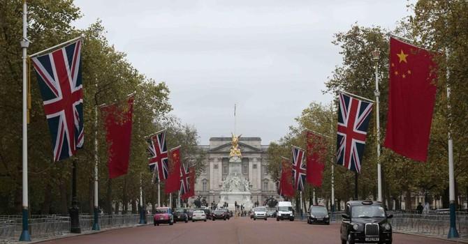 Nước Anh trải thảm đỏ chào đón Chủ tịch Trung Quốc