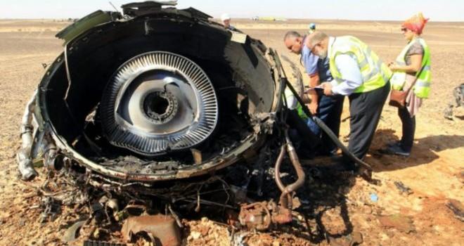 Phi cơ Nga 'đã vỡ tan tành trên không trung' ở Sinai