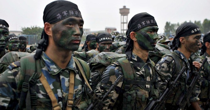 """Trung Quốc dùng """"người xanh tý hon"""" chống lại Hoa Kỳ"""