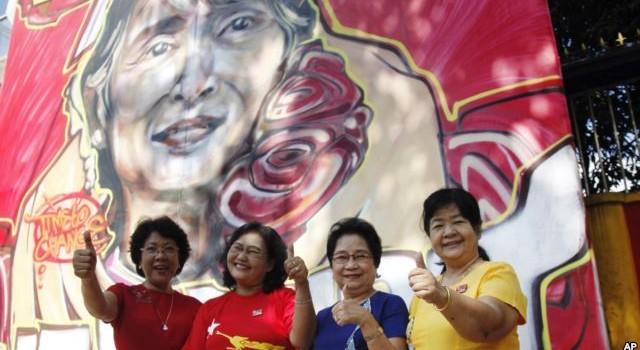 """Đối lập Myanmar """"đủ ghế"""" trong quốc hội để thành lập chính phủ"""