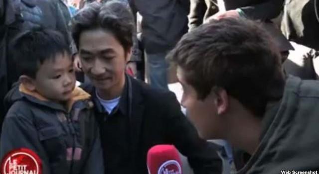Cha con gốc Việt gây xúc động khi nói về vụ khủng bố Paris