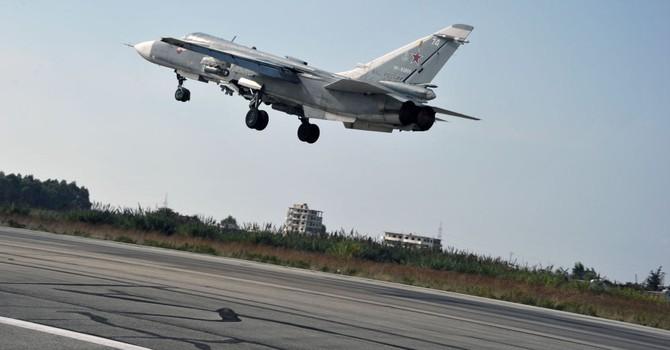 Bộ Quốc phòng Nga xác nhận về vụ máy bay rơi tại Syria