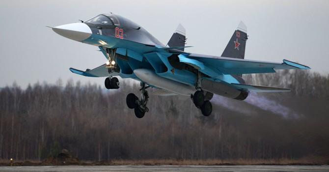 Nga điều động thêm cả tá chiến đấu cơ đến Syria