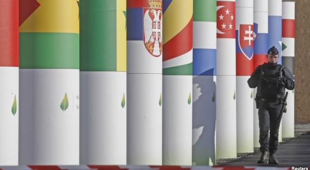 An ninh siết chặt ở Paris trước Hội nghị Thượng đỉnh về khí hậu toàn cầu