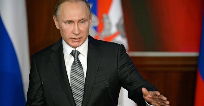 Ông Putin: Chiến dịch ở Syria là vì mối đe dọa trực tiếp từ IS tới Nga