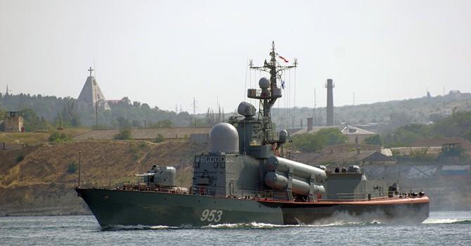 Tàu tên lửa Nga buộc tàu Thổ Nhĩ Kỳ đổi hướng ở Biển Đen