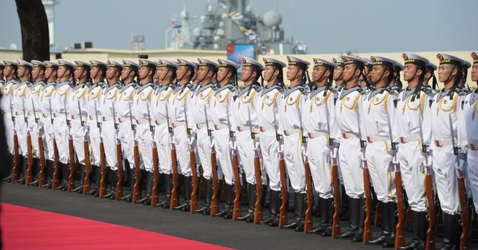 Trung Quốc đưa khu trục hạm tên lửa Hefei vào biên chế lực lượng Hải quân