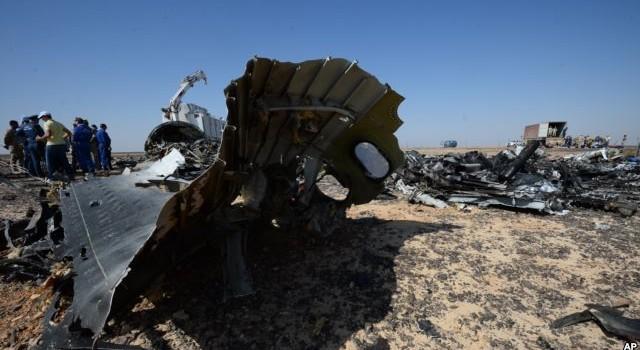 Ai Cập: Không có bằng chứng khủng bố trong vụ rơi máy bay Nga