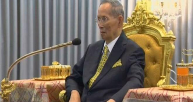 Quốc vương Thái Lan tái xuất hiện