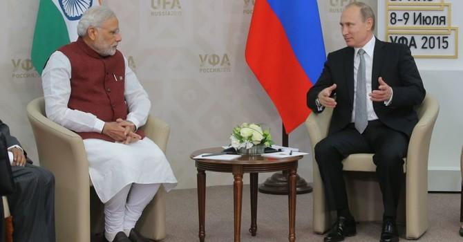 """Thủ tướng Ấn Độ: """"Tổng thống Nga là một nhà lãnh đạo mạnh mẽ và quyết đoán"""""""