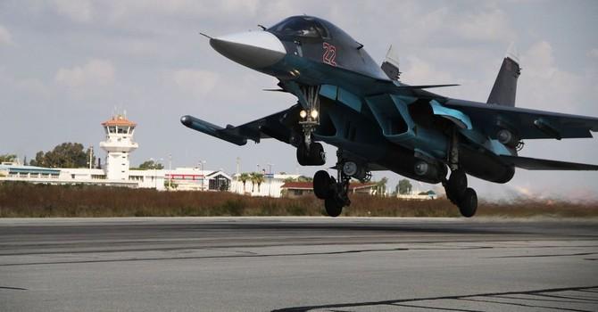 Nga biến cường kích Su-34 thành máy bay tác chiến điện tử