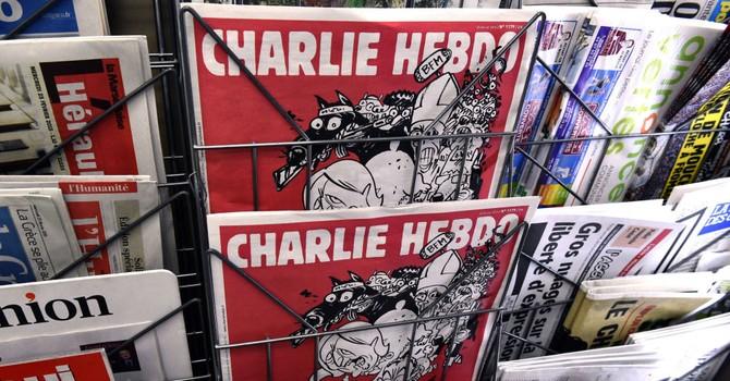 Charlie Hebdo vẽ Thần khủng bố nhân một năm vụ tấn công tạp chí
