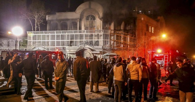 Xung khắc Riyad-Teheran có nguy cơ kéo Trung Đông vào bạo loạn