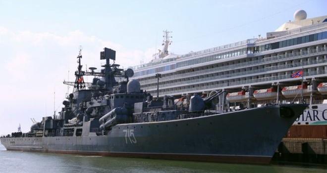 Tàu chiến Nga thăm Việt Nam