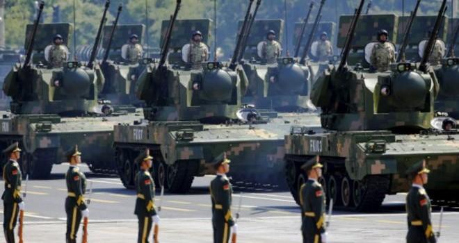"""Trung Quốc tuyên bố xây dựng """"quân đội hùng mạnh"""""""